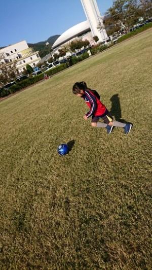 娘はサッカー!