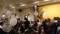 嫁さんの友達の結婚パーティー!