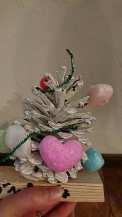 子供たちのつくったクリスマスツリー!