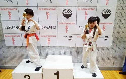 息子・娘共に3位入賞!!