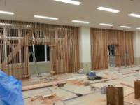四国大学 図書館 木工事完成
