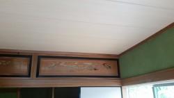 目透かし貼り天井