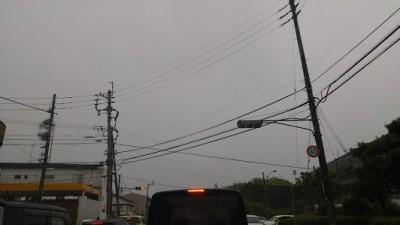 朝の通勤時の渋滞