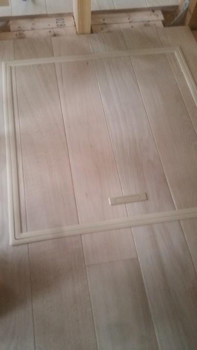 床下点検口施工完了