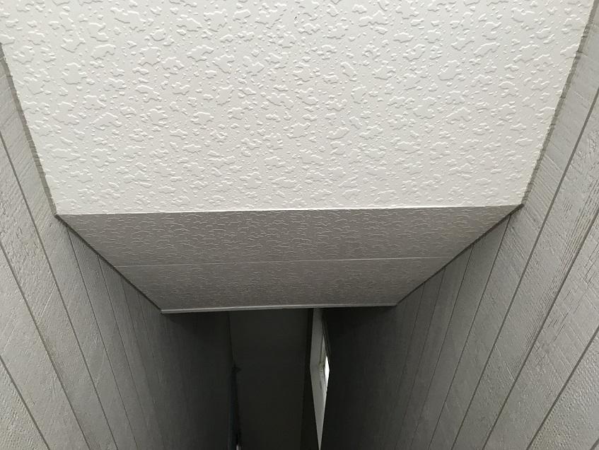 徳島市内 店舗兼住宅新築工事軒天