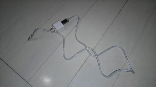 百均の携帯配線
