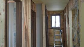 ドア枠施工