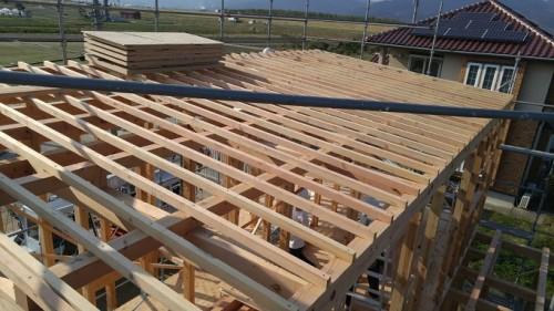 垂木の施工