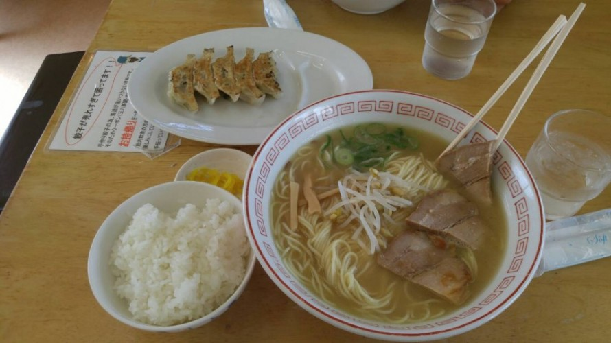 昼飯に『三八』へ