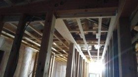 天井下地施工