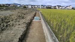 L型擁壁床堀