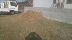 草刈完了!きれいになりました