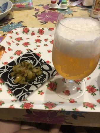 土用の丑の日ビール最高!