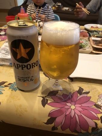 黒ラベルビール