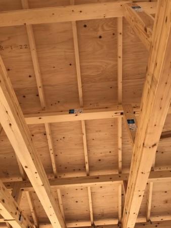 八万町T様邸新築工事屋根
