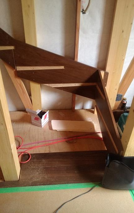 階段取り付け