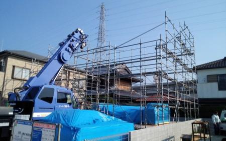 徳島市内T様邸新築工事上棟式
