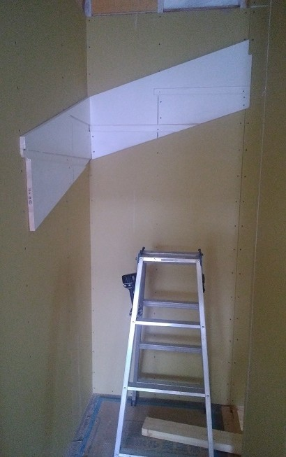 階段の取り付け下地