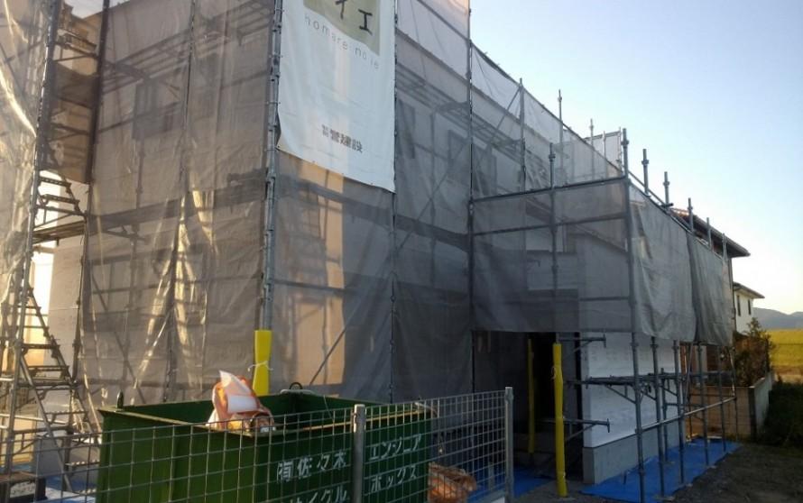 石井町S様邸新築工事 上棟式