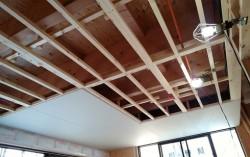 1階天井の強化ボード