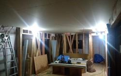 1階天井のボード