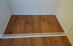 3階巾木施工
