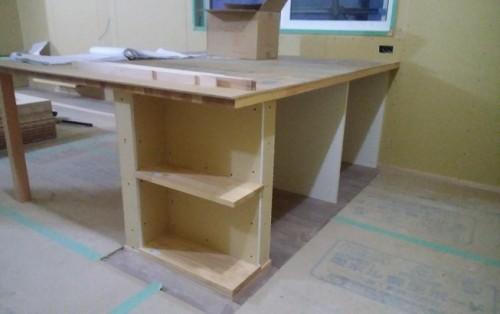 キッチンテーブル作り