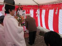 2014年2月22日地鎮祭