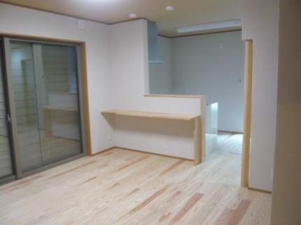 徳島市内K様邸新築1階キッチン