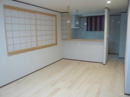 徳島市内K様邸新築2階キッチン