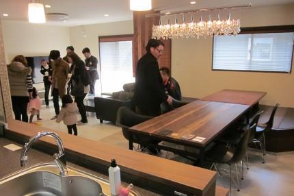 2015年2/14(土)「助任町 完成見学会」
