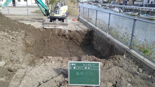 地盤改良 掘削