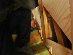 階段巾木の調整