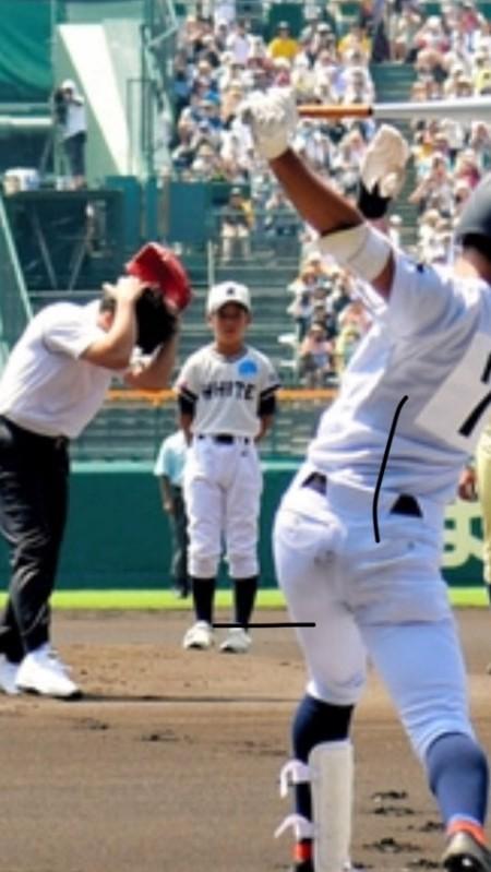 松井秀喜さん始球式