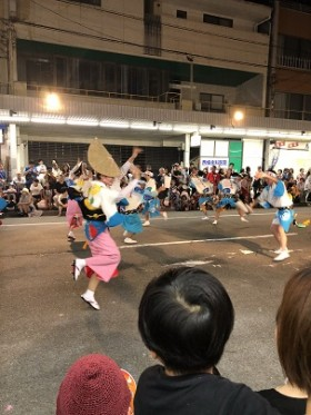 2018徳島鳴門阿波踊り