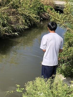 休憩時間に釣り!