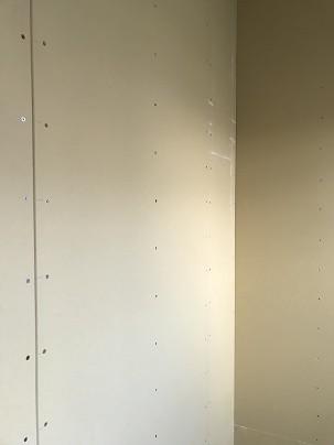 天井、壁施工