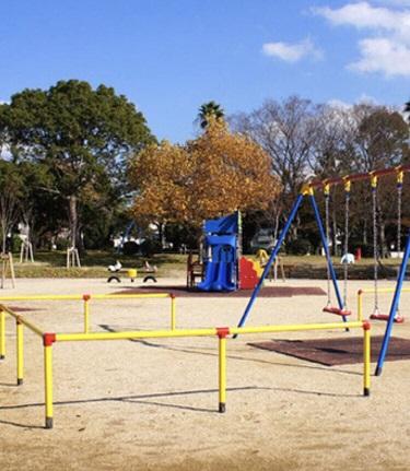 公園で子供たちと☆