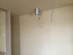 キッチン周りの壁PB貼り