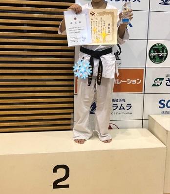全日本大会で、準優勝!!