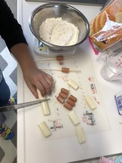 『韓国のチーズドッグ』