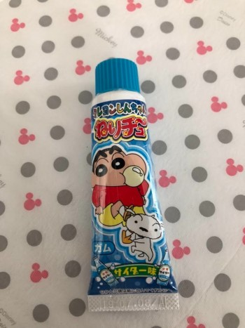 子供のが買ったお菓子『チューブ入りガム』