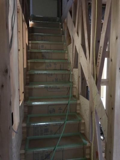 階段取り付
