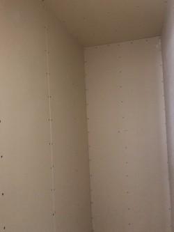壁プラスターボード貼り
