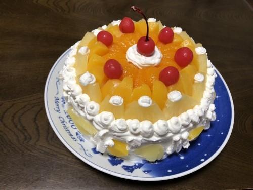 子供たち手作りの誕生日ケーキ!