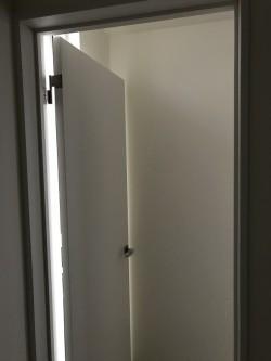 二階建具取り付け