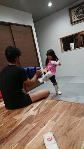 自宅で練習