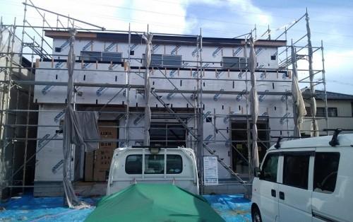 徳島市内T様邸軒天工事
