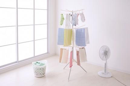シラス壁の優れた調湿効果で部屋の「ジメジメ湿気を吸収!」